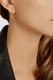 Maria Black Klaxon and Mini Klaxon gold-plated earrings