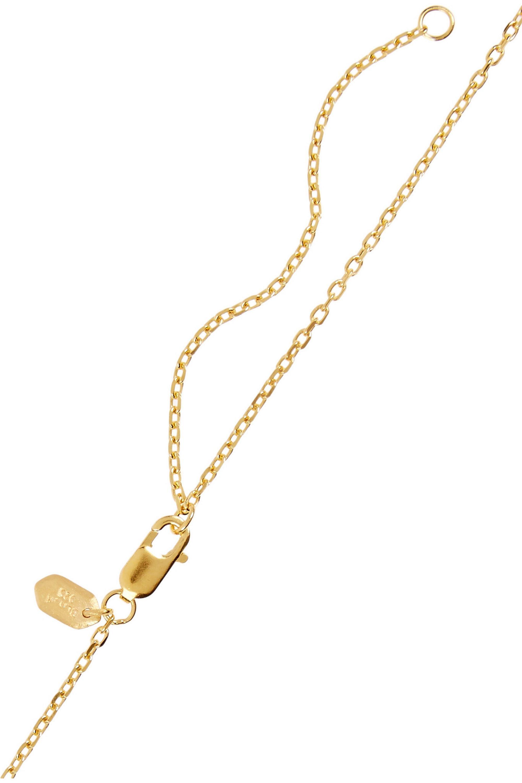 Maria Black Klaxon gold-plated necklace