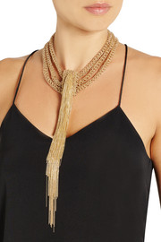 Rosantica Itaca gold-dipped necklace