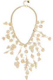 Rosantica Maria gold-dipped freshwater pearl necklace