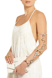 Rosantica Maria gold-dipped freshwater pearl arm cuff