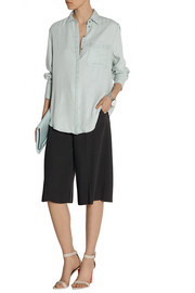 Acne Studios Oversized washed-poplin shirt