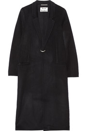 Foin Doublé oversized wool and cashmere-blend coat