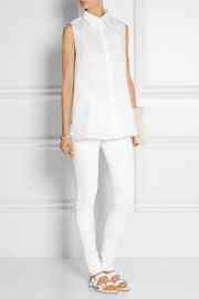 Acne Studios Ash oversized cotton-poplin top