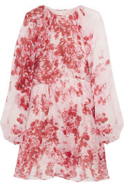 Giambattista Valli Printed silk-chiffon mini dress