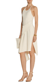 Reed Krakoff Wrap-effect crepe dress