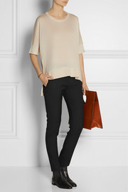 Reed Krakoff Cashmere, wool and silk-blend top