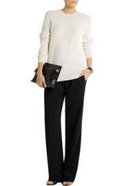 Reed Krakoff Silk-crepe straight-leg pants