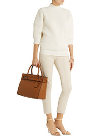Reed Krakoff Cotton-blend tapered pants