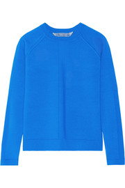 Cashmere, wool and silk-blend sweater