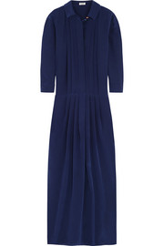 KENZO Silk crepe de chine maxi dress