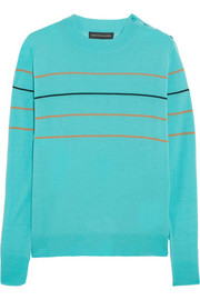 Jonathan Saunders Jaspar striped merino wool sweater