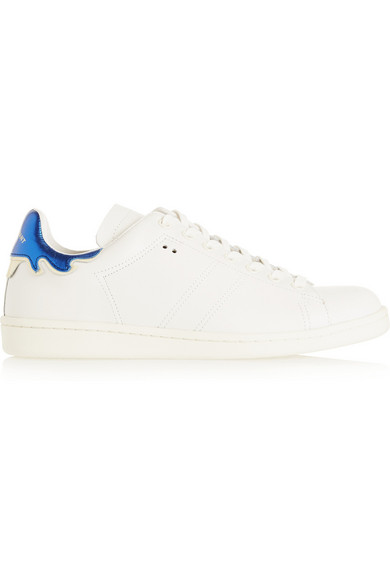 9ac273b78d Isabel Marant | Étoile Bart leather sneakers | NET-A-PORTER.COM