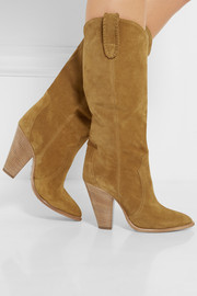 Isabel Marant Étoile Ruth suede knee boots