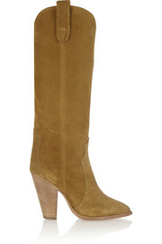 Ruth suede knee boots