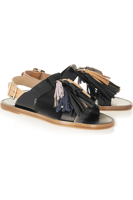 Isabel Marant Étoile Clay tasseled leather sandals