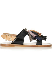 Isabel Marant Étoile Clay tasseled leather sandals