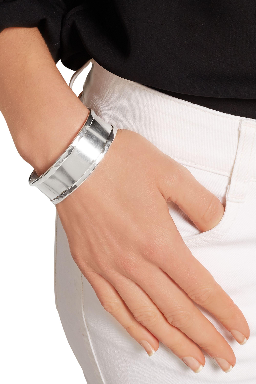 Maria Rudman March silver cuff