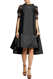 Biyan Alana embellished shantung dress