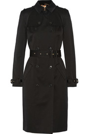 Trench coat in cotton-twill