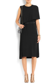 Givenchy Belted draped dress in stretch-crepe