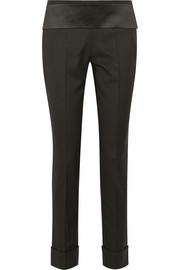 Tuxedo pants in wool-twill