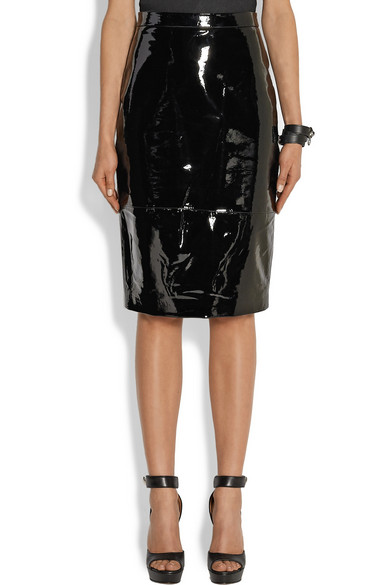 Givenchy | Pencil skirt in black patent-leather | NET-A-PORTER.COM