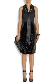 Givenchy Pencil skirt in black patent-leather
