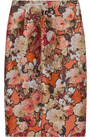 Givenchy Skirt in metallic floral-jacquard