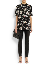 Givenchy T-shirt in moth-print cotton-jersey