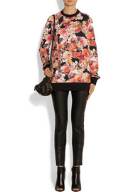Givenchy Floral-print cotton sweatshirt
