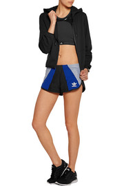 Archive mesh-paneled cotton and modal-blend jersey shorts