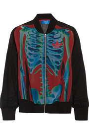 adidas Originals + Rita Ora O-Ray Supergirl printed chiffon jacket