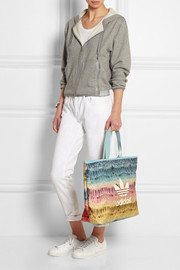 Menire printed canvas tote