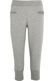 Essentials cropped cotton-blend jersey track pants