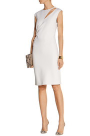 Emilio Pucci Cutout stretch-wool crepe dress