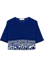 Emilio Pucci Cropped knitted top
