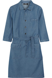 Nancy denim shirt dress