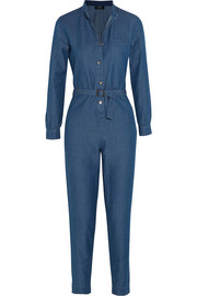 Texas denim jumpsuit