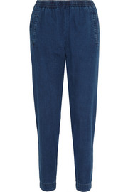 Countryside denim tapered pants