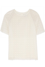 + Vanessa Seward Peggy crocheted cotton top