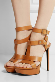 Saint Laurent Bianca leather sandals