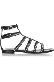 Saint Laurent Studded leather sandals