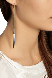 Isabel Marant Gold-plated bone earrings
