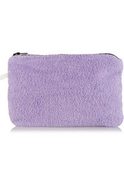 Cotton-terry pouch