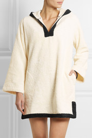 Lisa Marie Fernandez Boyfriend hooded cotton-terry beach tunic