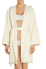 Lisa Marie Fernandez Hooded cotton-terry robe