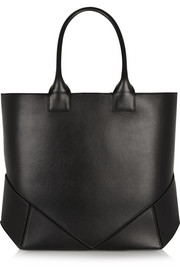 Easy bag in black leather