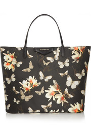 Antigona shopping bag in printed coated canvas