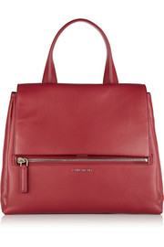 Givenchy Medium Pandora Pure bag in cherry textured-leather